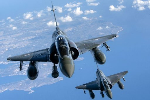 Mirage 2000 deutsch mission - AFP/ECPAD